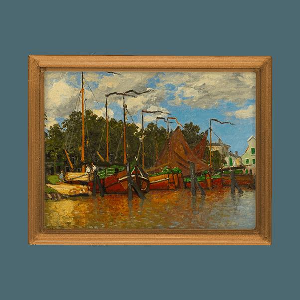 Claude Monet- Csónakok