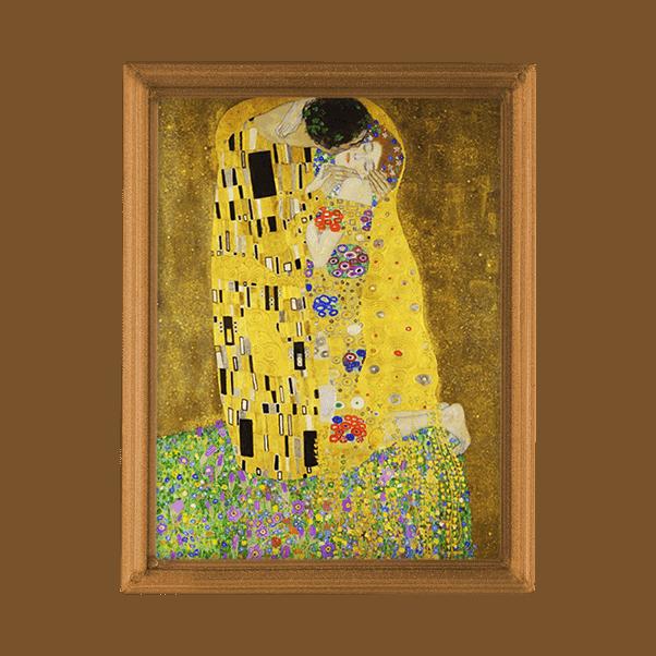 Gustav Klimt- A Csók