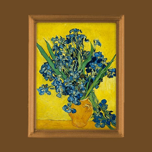 Van Gogh- Íriszek Vázában